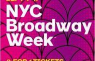米・ニューヨークがミュージカル鑑賞しやすく、入場券1枚の料金で2枚購入できるキャンペーン -NYCブロードウェイ・ウィーク