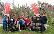 日本旅行が観光農園をオープン、訪日客のコト消費に対応、長野県飯山市に誘客・消費拡大で