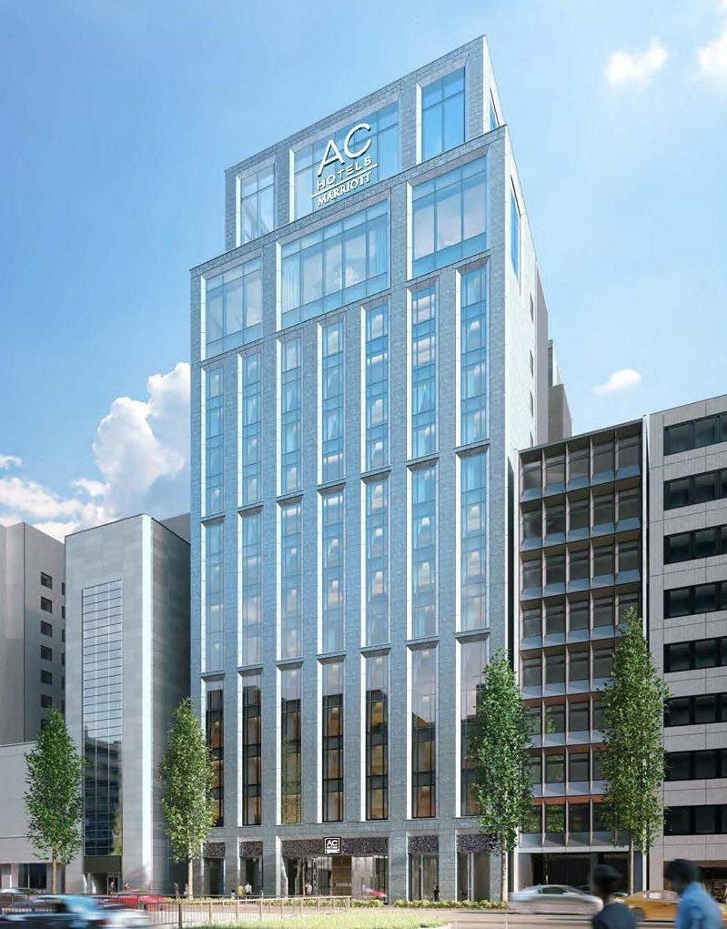 マリオット、アジア初の新ブランド「ACホテル」開業、東京・銀座に旅慣れた旅行者向けで