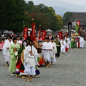 京都市、10月22日の「時代祭」を中止に、台風の影響など悪天候で順延なし