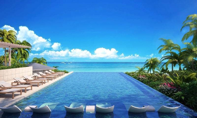 沖縄・伊良部島に高級ホテルが開業、森トラストの新ブランド「SUI」の1号店、マリオットの上級カテゴリーと共同で