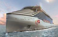 英ヴァージンの新クルーズは「18歳以上の大人限定」、独特な赤い煙突などヴァージンらしさ重視、客船デザインやサービス概要を発表