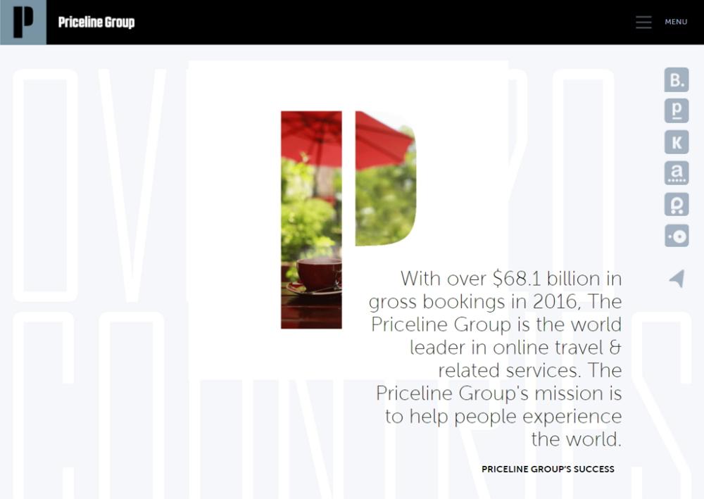 世界2大OTAプライスライン・グループ決算、宿泊予約は2ケタ成長、ブランド広告が5割増で約1億ドル超えに ―2017年第3四半期