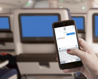 デルタ航空、飛行中のスマホ利用でメッセージ送受信を無料に、フェイスブックメッセンジャーなどで