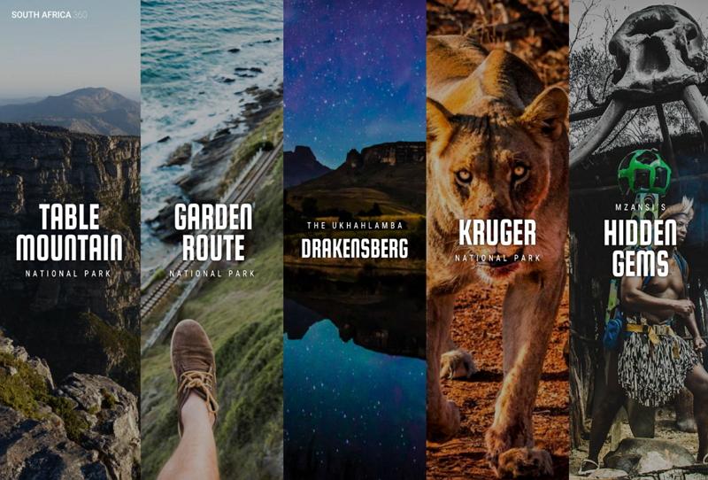 南アフリカのすべての国立公園を360度映像で公開、特設サイトで隠れた観光スポット公開も【画像】