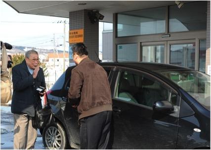 北海道天塩町で「相乗り」サービスが本格稼働、中長距離ライドシェア「notteco」が地域の足として定期便的に