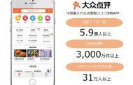 中国クチコミ投稿アプリ「大衆点評」、銀座松屋へ送客支援を開始、訪日客に優待情報を提供