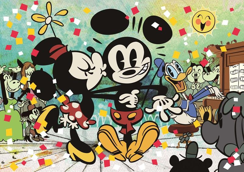 ディズニー、ミッキーマウスの映画デビュー90周年で各種イベント、店舗巡りやラッピング電車など全国で【画像】
