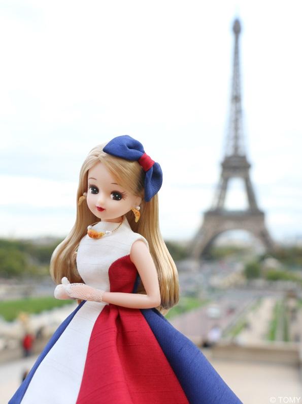 フランス観光親善大使「リカちゃん」が渡仏、SNSで旅のスタイルやプランを発信