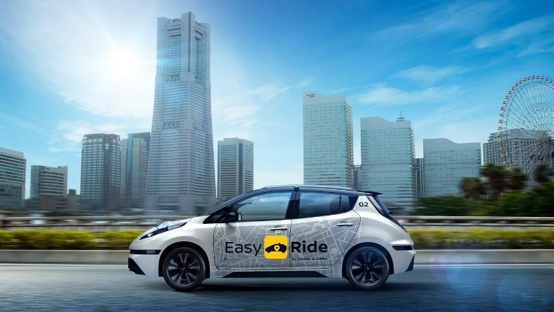 日産とDeNA、無人自動運転の新交通サービス提供へ、専用アプリで観光ルート選択などインバウンド需要も
