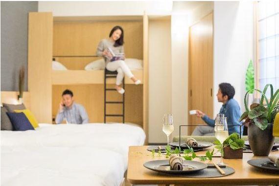 コスモスイニシアがホテル開業へ、新ブランド設立、訪日客の家族利用を対象に4名以上アパートメント型で