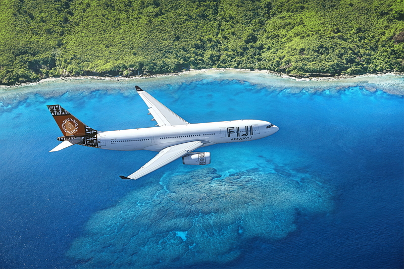 日本からフィジー直行便が就航へ、来夏から成田発着の週3便、フィジー・エアウェイズがA330で