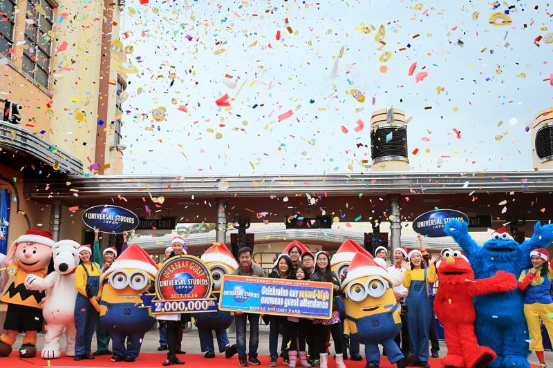 大阪ユニバーサル・スタジオ、インバウンド入場者が200万人突破、3年前の約2倍に成長