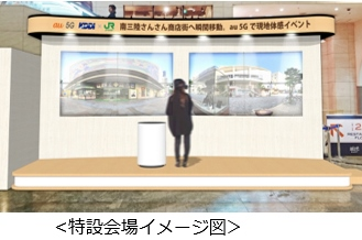 次世代通信「5G」でリアルタイム遠隔旅行、仮想現実(VR)活用で東京にいながら南三陸を疑似体験、KDDIが国内初開催
