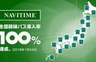 ナビタイム、全国のすべての路線バス情報を検索可能に、日本語の他、訪日向けも