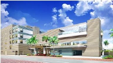 沖縄・北谷町に「ダブルツリー byヒルトン」、リゾート型でオリックス不動産が2018年6月開業へ