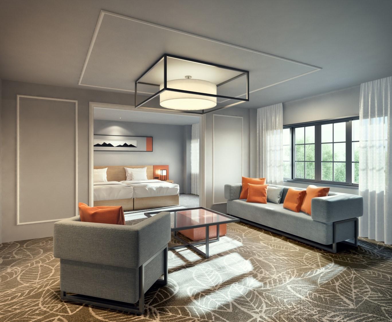 旧軽井沢ホテルが「ヒルトン」に、日本初進出の上級ブランドでリニューアル、東急不動産が昨年3月に取得
