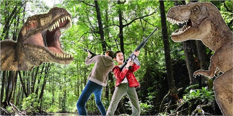 ハウステンボスが無人島で新アトラクション、AR活用の恐竜捕獲ゲームや無人島上陸クルーズなど、4月オープンへ