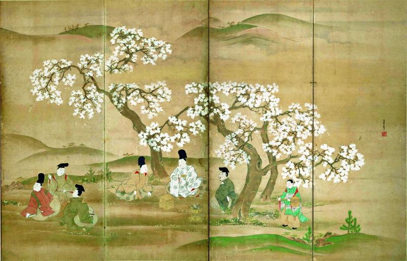 東京国立博物館でお花見を、桜テーマの特別企画展や庭園開放、3月13日から