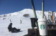 スタバと白馬観光がタッグ、スキー場でも本格コーヒー提供、専用マシンやコーヒー豆提供で