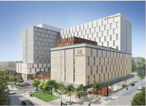 プリンスホテル、2020年夏に東京・湾岸地区に新ホテル、約600室で運営を受託