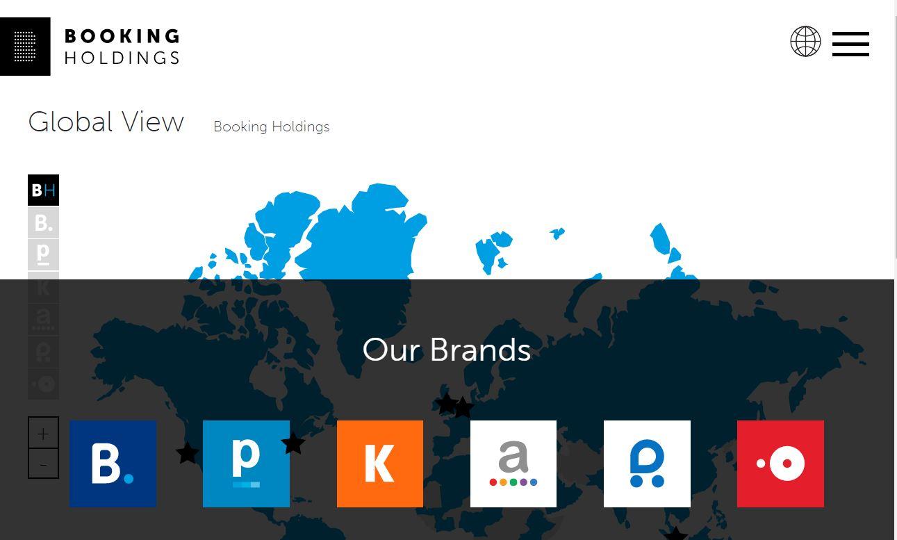 世界2大OTA「プライスライン」が社名変更、「ブッキング・ホールディングス」に、中核事業を全面に打ち出し