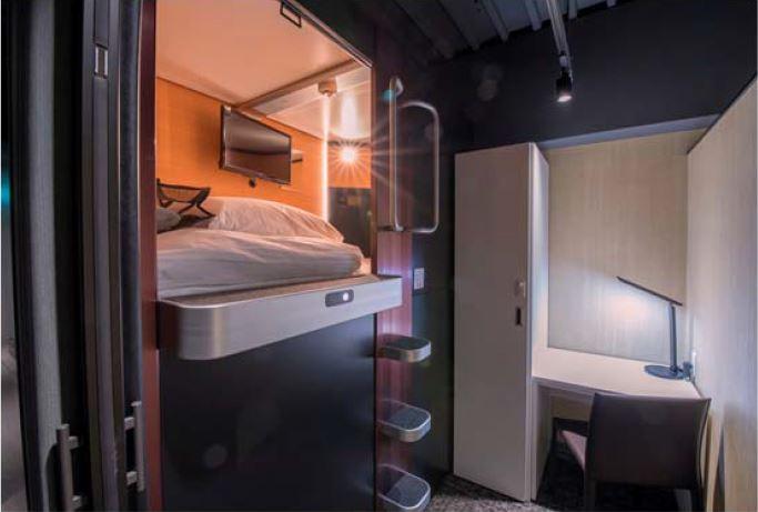 タマホーム、ホテル2号店を大阪に開業、簡易宿所のキャビン型タイプで