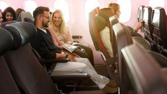 英・ヴァージン航空、エコノミー座席を細分し3タイプに、足元レッグルーム広め座席や、手荷物のみタイプなど