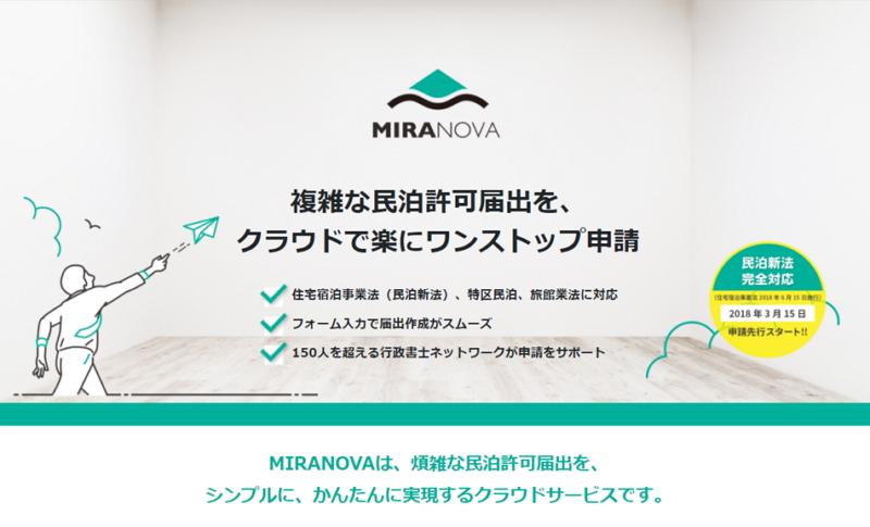 一棟貸し民泊「ホームアウェイ」、民泊申請代行サービスと提携、クラウド型サービスで基本コースが5万円