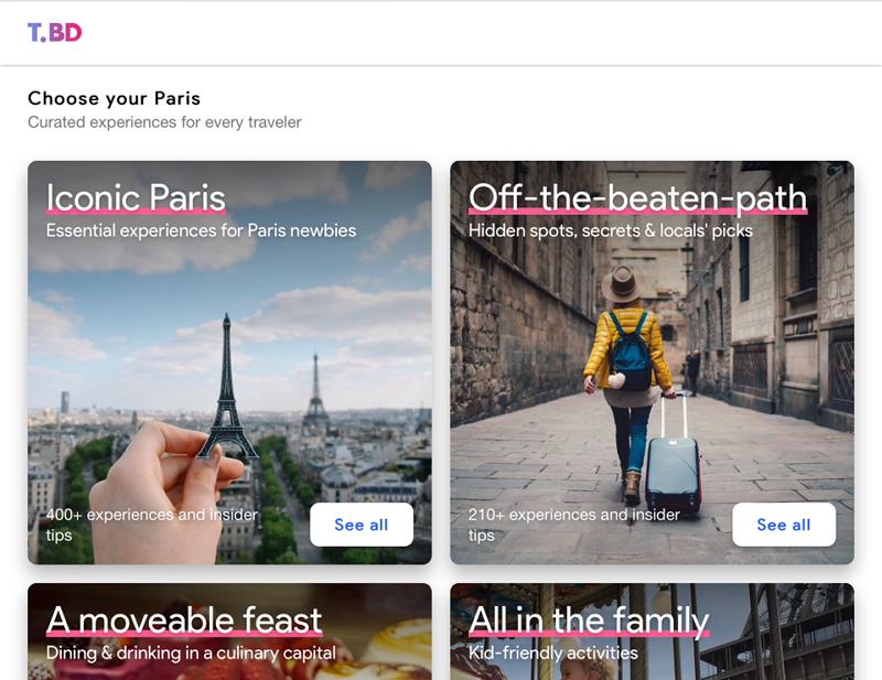 グーグル、現地ツアーや体験チケットの予約サービスを開発、旅行者向けに試験運用へ