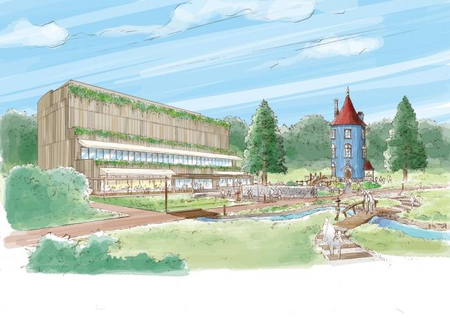 ムーミン物語のテーマパーク、正式開業が2019年3月に決定、埼玉県飯能市に