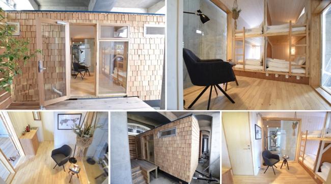 横浜の高架下にホステル入居の複合施設、カフェやイベントスペース、水上アクティビティも提供