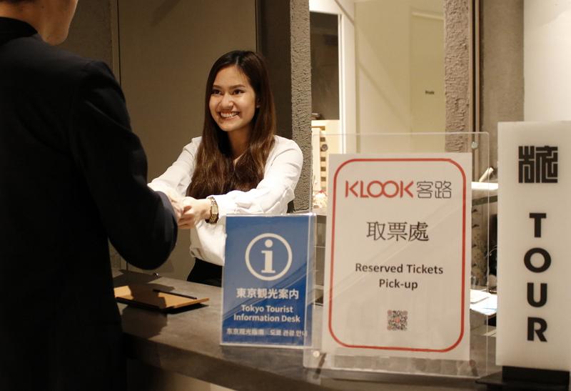 旅行アクティビティ予約「Klook(クルック)」、新宿のインバウンド向けコワーキングスペースでチケット受け渡しを開始