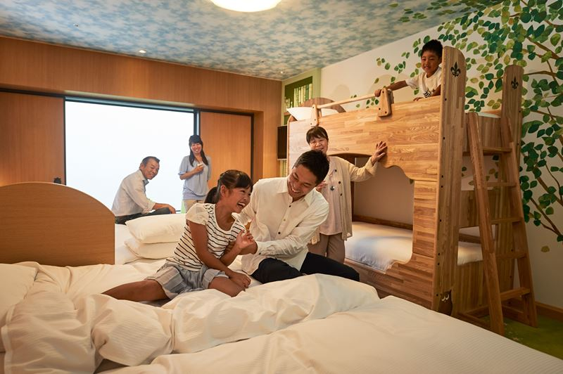ヒルトン東京ベイ、最大6名宿泊できる客室を2割に増室、三世代ファミリーや訪日客需要に対応