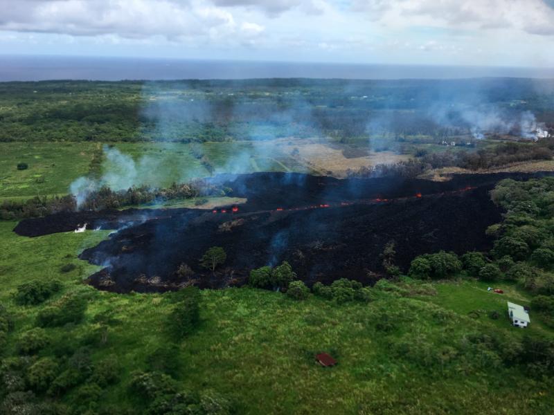 ハワイ、キラウエア火山の影響で観光産業に打撃、7月までのキャンセル総額が500万ドルに