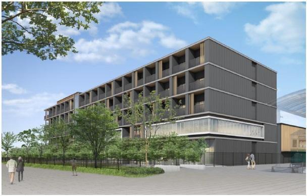 JR西日本、宿泊事業で新ブランド「ポテル(Potel)」発表、2020年春に京都で1号店を開業