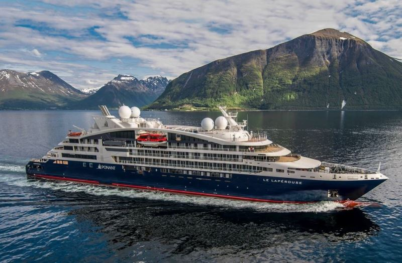 フランスの豪華クルーズ会社が日本に本格参入、快適に北極点に向かう探検船など運航する「ポナン社」、客船数を倍増計画も
