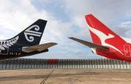 カンタス航空とニュージーランド航空、両国の国内115路線で共同運航便、2018年秋から