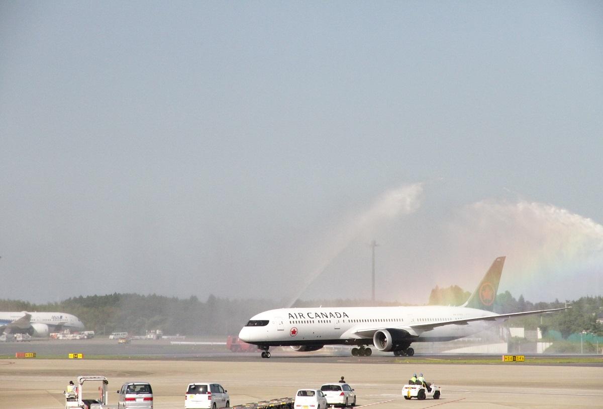 エア・カナダ、成田/モントリオール線が就航、観光分野のトップら来日でイベント開催