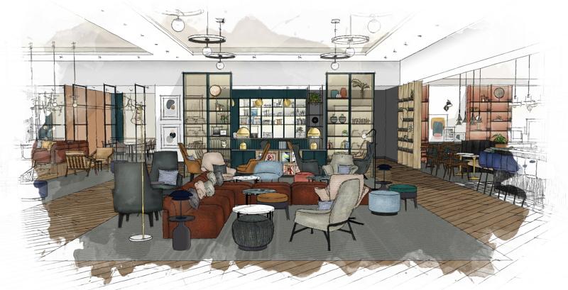 マリオット、「シェラトン」ブランドを再構築へ、約5億ドルの投資でパブリックスペース強化など