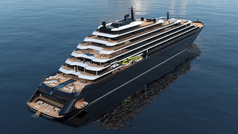高級ホテル「リッツ・カールトン」の新クルーズが予約受付を開始、2020年2月の処女航海は10泊7900米ドル~