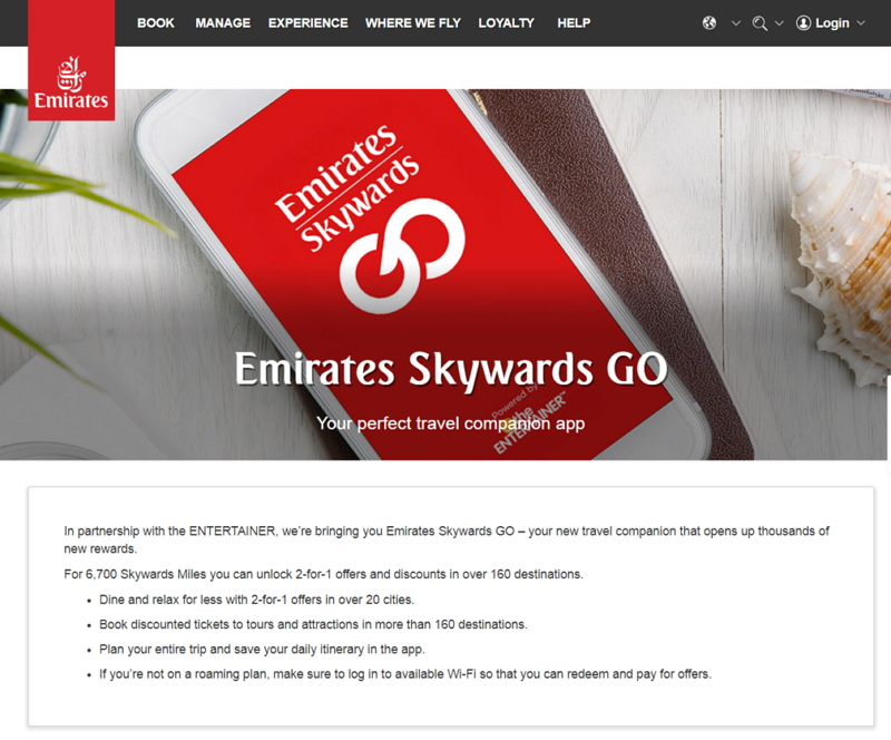 エミレーツ航空、会員向け新アプリでタビナカ体験を拡充、観光ツアーなど即時予約も可能に