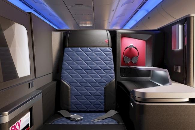 デルタ航空、個室タイプのビジネスクラスなど日本4路線に投入、2018年11月から
