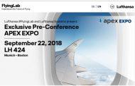 ルフトハンザ航空、飛行中の機内で国際カンファレンスを開催へ、乗客には最新テクノロジーの機内体験を提供