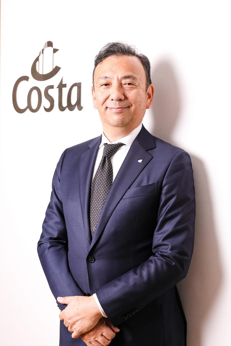 【人事】コスタクルーズ、日本支店長に浜岡聡一氏が就任、アジア事業強化で行政・旅行会社と連携強化へ