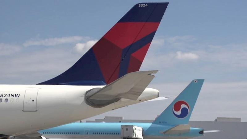 デルタ航空と大韓航空がコードシェア拡大、米国行き乗継ぎで日韓路線が15路線・週300便に