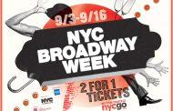 米ニューヨーク市、今秋も旅行者向け「ブロードウェイ・ウィーク」開催、チケット1枚の料金で2公演の鑑賞を可能に