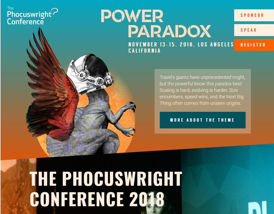 米フォーカスライトの国際会議2018、今年も世界の観光トップが集結、テーマは「旅行産業のパラドックス」 ―11月13日から(PR)