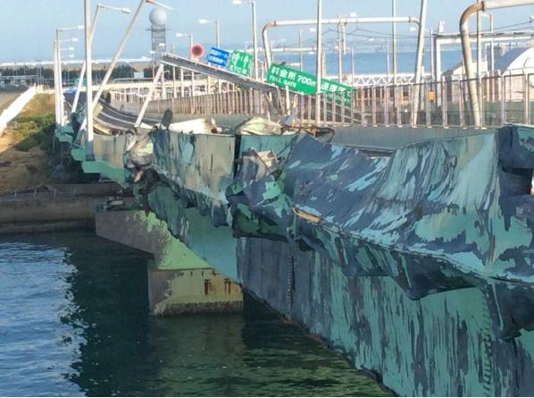 関西空港・連絡橋の完全復旧は「来年ゴールデンウィークまで」に、国交省が目標設定