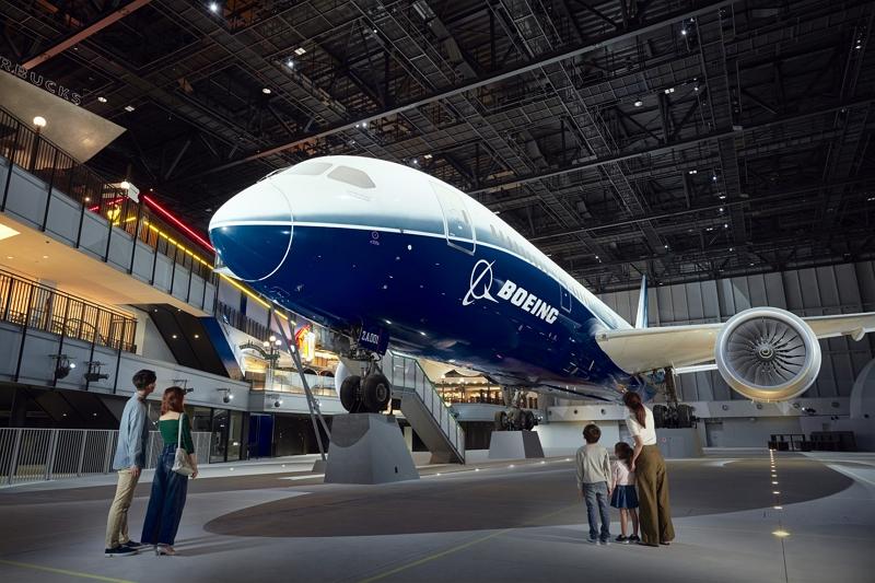 中部国際空港に新施設、デジタル活用の体験ショー「フライトパーク」や、ボーイング787初号機の展示など、10月12日に開業【画像】